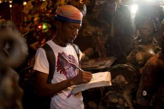 BD journalism at Centre d'Art - Haïti